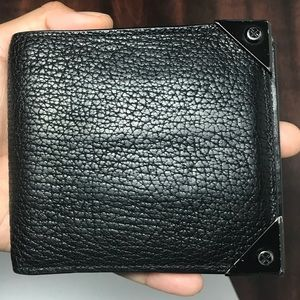 Alexander wang leather wallet